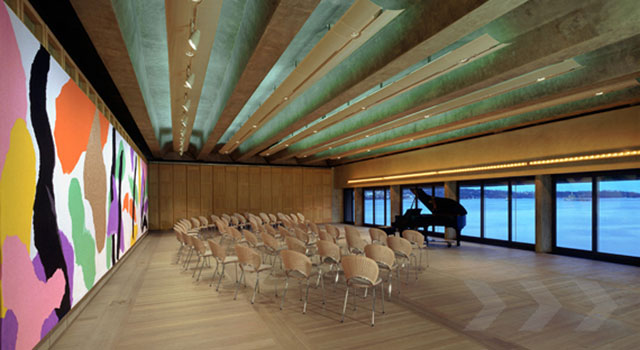 Sydney Opera House's Utzon Room