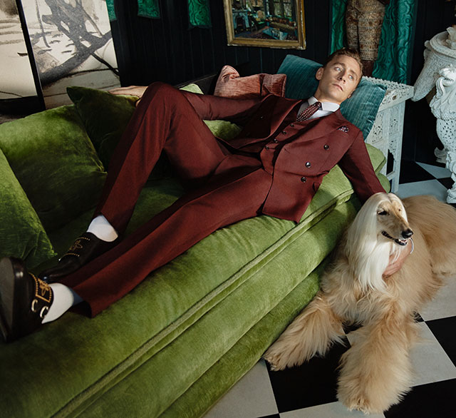 Tom Hiddleston lands Gucci Campaign (фото 4)