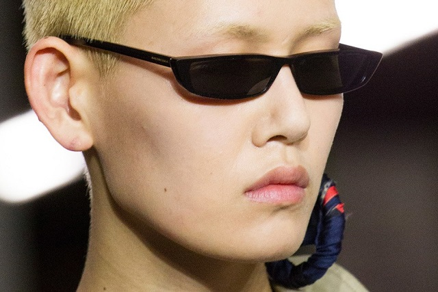 Balenciaga Matrix-inspired glasses