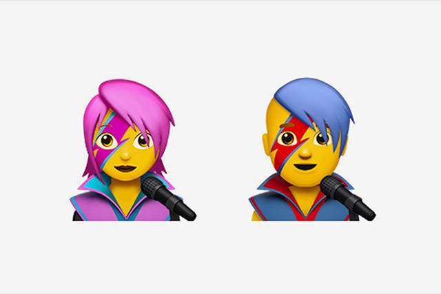 Your new iPhone update will include a Bowie emoji (фото 1)
