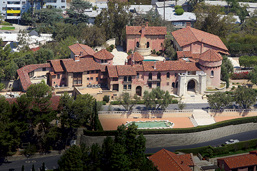 Immaculate Heart of Mary convent in Los Feliz