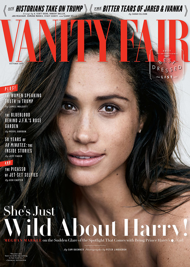 7 things we learned from Meghan Markle's Vanity Fair interview (фото 1)