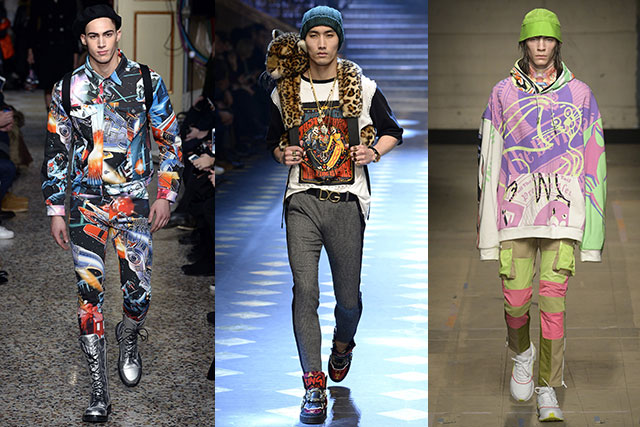 Moschino, Dolce & Gabbana and Topman Design