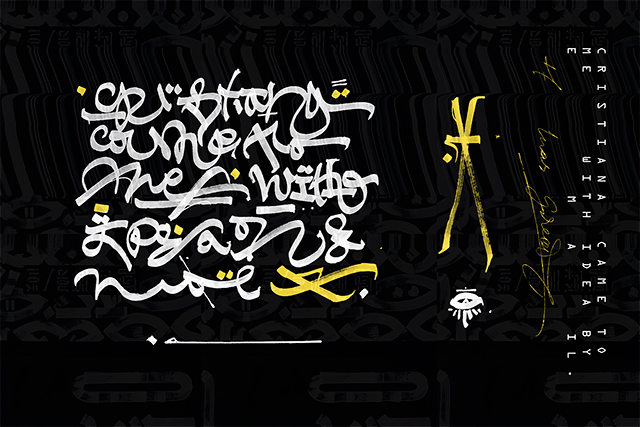 F for Fendi: inside Rome's largest calligraffiti work (фото 5)