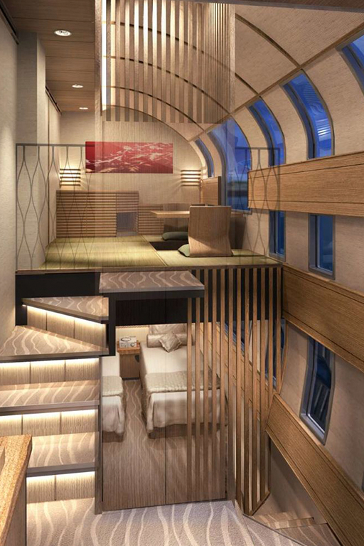 Is this the most luxurious train in the world?