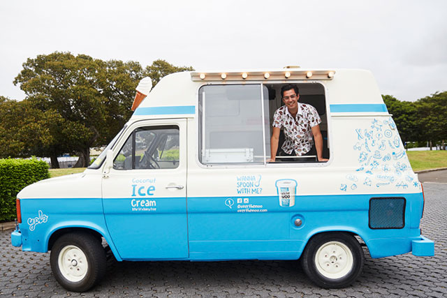 A vegan ice cream truck is coming to Sydney