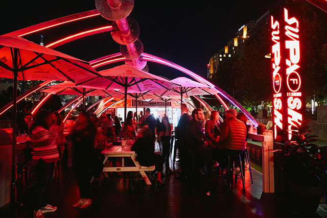 A fluoro floating bar just opened on the Yarra (фото 1)