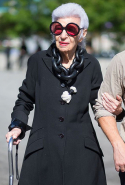 """Fashion you can buy, but style you possess. The key to style is learning who you are, which takes years."" - Iris Apfel"