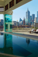 Chuan Spa, The Langham, Melbourne:   New Collagen Facials drench skin in hydration for winter in this tranquil, lofty nest above the bustle of riverside Southbank with spectacular poolside views over the city skyline.
