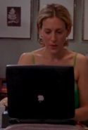 "3.	All those ""And I couldn't help but wonder…"" and ""I got to thinking…"" moments. Carrie, fag in hand, crouched over her laptop and staring out the window is probably the show's recurring motif."