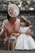 6.	Prince George and Princess Charlotte were part of the bridal party as pageboy and flower girl.