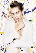 Miley Cyrus, singer and LGBTQI campaigner