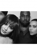 So when it came to double date night again, Kimye figured it was easier to just sub in Kylie for Chyna, and complete the quartet. Bonus: Kimye and Tyga got to keep the EXACT same poses as in the original photo (hey, you can't argue with a good angle!).