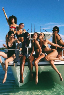 Bella Hadid headed to the Bahamas for a girls getaway with a handful of her model pals which included Kendall Jenner, to celebrate bestie Hailey Baldwin's 22nd birthday.
