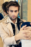 Douglas Booth, 23, the handsome London native who's had small parts in 'Noah', 'Jupiter Ascending' and 'Pride and Prejudice and Zombies', and has three flicks out in 2016.