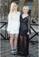 With Dakota Fanning in 2014