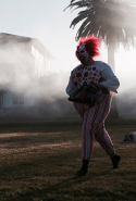 """Spookers"" - Another weird and wonderful documentary on the SFF lineup is this New Zealand film about ""Spookers"", which is a 'scream park' located in an old psychiatric hospital just outside of Auckland. The film asks why the hell anyone would want to dress up as a zombie, creepy clown, or horror-fuelled maniac and scare people for a living, but it also goes deeper than that and looks at the actors behind the bloody masks. SFF is also holding a door prize for the best spooky costume at this film's screening."