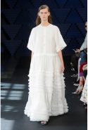 Roksanda featured grown-up gowns that struck a fine balance between voluminous and minimal.