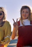 """Ingrid Goes West"" - How great is Aubrey Plaza? Let me rephrase that, how great is Aubrey Plaza as a borderline crazy loner with a chunky inheritance, chip on her shoulder, single white female stalker slant and a social media addiction?! Watch this hilarious satire to find out. Also starring Elizabeth Olsen, ""Ingrid Goes West"" took out the Sundance Screenwriting Award."