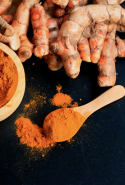Turmeric. Curcumin, the active constituent of turmeric, accelerates both phases of liver detoxification.