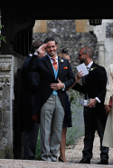 13.	James' Best Man was brother Spencer Matthews, who rose to reality TV fame after appearing on 'Made In Chelsea'.
