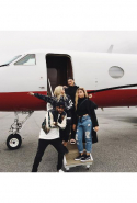 Kylie and Sofia, being of a similar age, even fly on private jets together.
