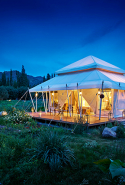 'Absolutely magical eco-friendly glamping in palatial tents with panoramic vistas of mountain-top monasteries by the foothills of the Himalayas in Ladakh.' – Johannes Pong Travel writer