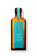 Hair products: I always blow-dry a small amount of Moroccanoil Treatment Oil through my hair after a shower. I've noticed a huge difference in the texture of my hair since using it.