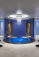 Crown Spa, Crown Towers, Perth:  This aqua-hued enclave designed by Blainey North to recreate the refraction of light underwater is a feast for La Prairie fans. Pampering meets high-tech technology with die-to-try treatments like the iconic Caviar Lift Facial and four-handed Platinum Rare Facial. Float out looking richer.