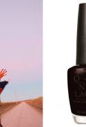 18.	Nail polish:  Just a nice black polish - OPI is usually great.