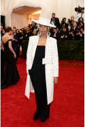 Erykah Badu in Givenchy Haute Couture, 2014