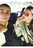 We'll start with Sofia's relationship with Justin Bieber, which became known to the public via Instagram (of course) around a week ago.