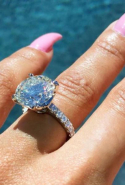 Later today, Blac Chyna showed off the seven-carat sparkler, which was made by Rob's jewellery designer mate Ben Baller.