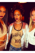 Joan Small, Rihanna and Doutzen Kroes