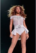 This white bodysuit she wore on the Mrs. Carter Tour