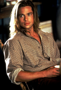 Brad Pitt as Tristan in Legends of the Fall,