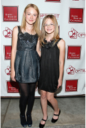 With Dakota Fanning in 2008