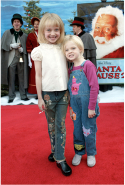 With Dakota Fanning in 2002