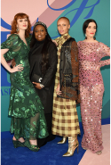 Karen Elson, Pat McGrath, Adwoa Aboah and Sarah Sophie Flicker