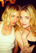 Sienna Miller and Natalia Vodianova