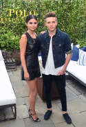 With Brooklyn Beckham. September 2015