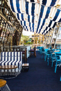 Café del Mar: Call 9267 6700 to book. 35 Wheat Rd, Rooftop Terrace, Cockle Bay Wharf, Sydney