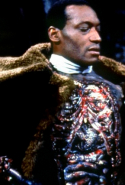 'Candyman' – Way to make bees terrifying – this '92 flick plays on the 'Bloody Mary' legend with a vengeful spirit (with a bloody hook for a hand) who can be summoned by repeating his name three times in front of a mirror.