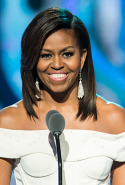 Michelle Obama: former First Lady of the USA, lawyer, women's rights activist (image: Gilbert Carrasquillo/Getty)