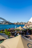 Opera Bar: Sydney Opera House, Macquarie St, Sydney.