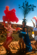 The Adventures of Priscilla, Queen of the Desert (1994). The costumes are incredible (and Oscar-worthy) alone, but there's a sobering humanity at the heart of drag queen road trip.