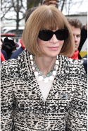 Anna Wintour: editor, journalist, Dame Commander of the Order of the British Empire (image: Jacopo Raule/Getty)