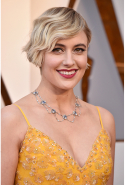 Greta Gerwig: Oscar-nominated director, actress, writer (image: Frazer Harrison/Getty)