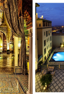 Palais Faraj, Fez, Morocco: Conjure your own 1001 Arabian Nights fantasy with traditional Hammam steam rituals and intoxicating Arab-Moorish architecture in an exquisite retreat overlooking the heart of the medina, nestled in the most fascinating of all ancient cities.