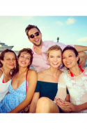With Dasha Zhukova, Karlie Kloss, Wendi Deng and Jennifer Meyer